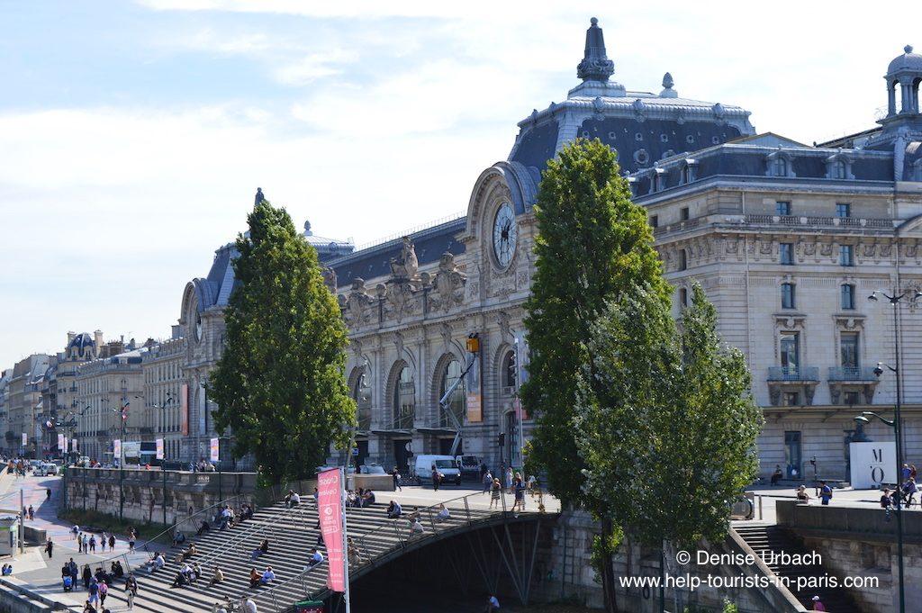 Musée d'Orsay Paris von der Seite