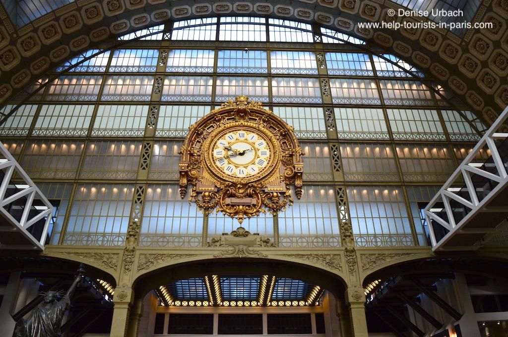 Musée d'orsay alte Bahnhofsuhr