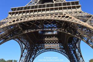 Paris Eiffelturm 1. Etage