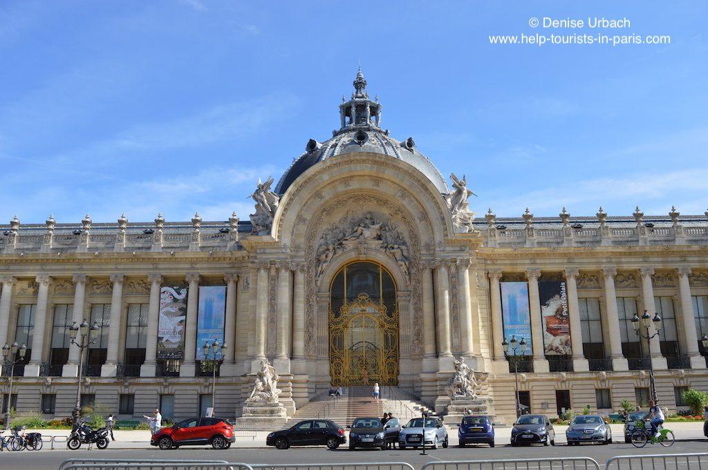 Petit Palais Champs Elysées Paris