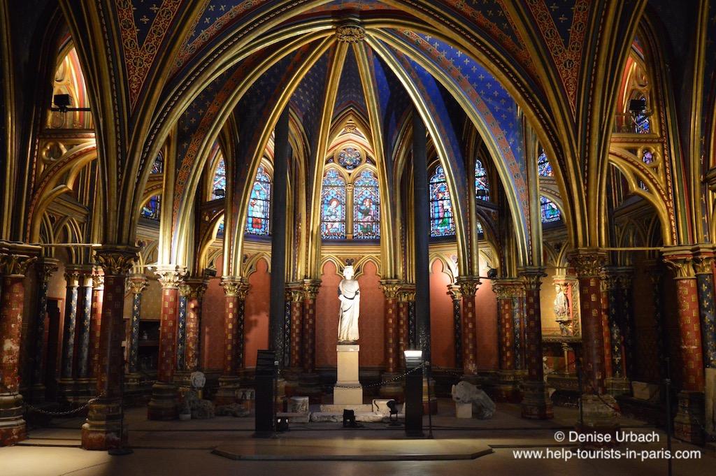 Sainte Chapelle Innenraum