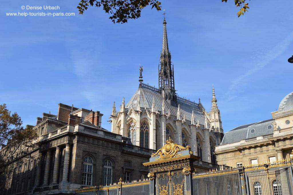 Sainte Chapelle und Justizpalast