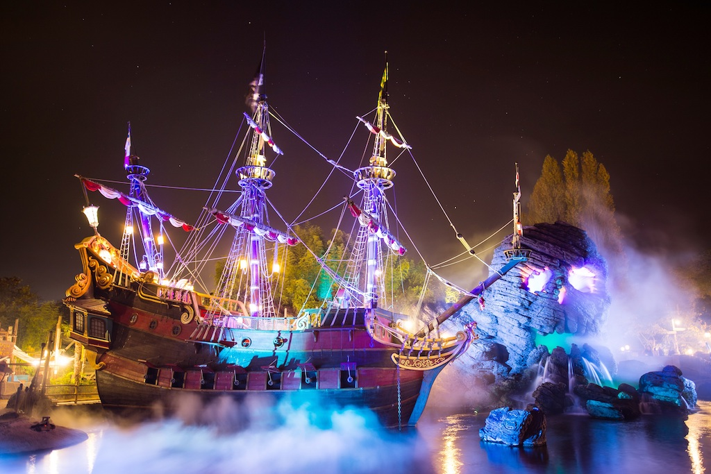 Disneyland Paris Halloween ©Disney
