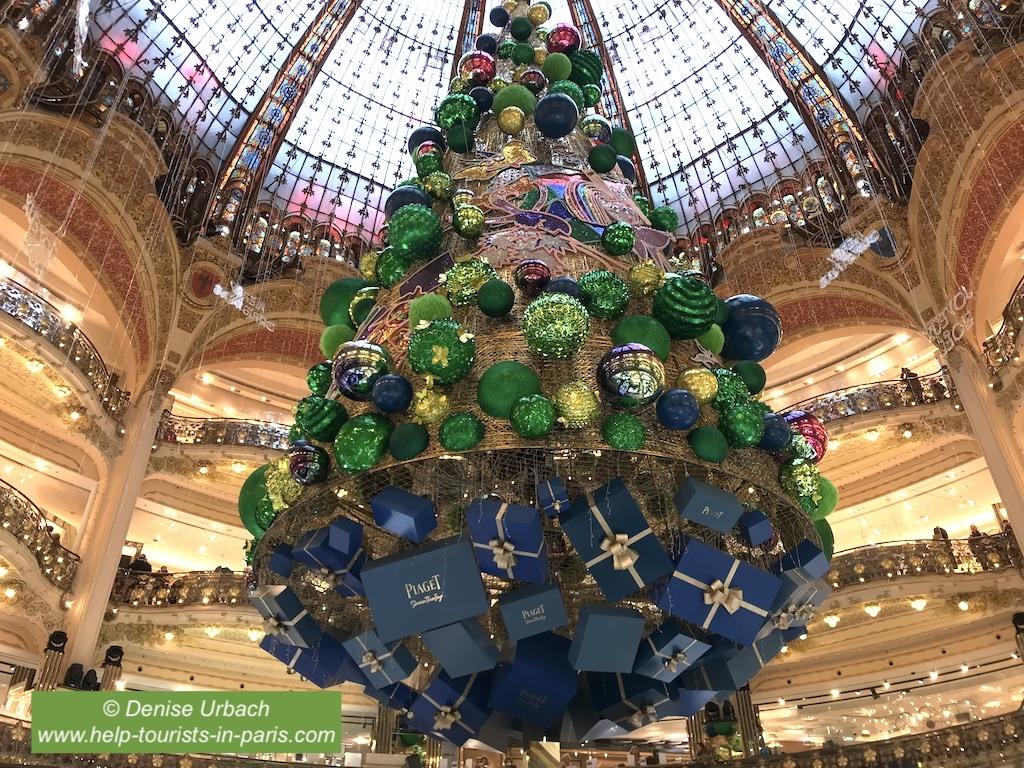Weihnachtsbaum Galeries Lafayette 2018