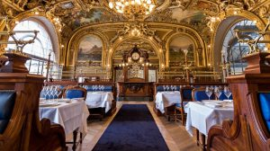 Restaurant Le Train Bleu Weihnachten