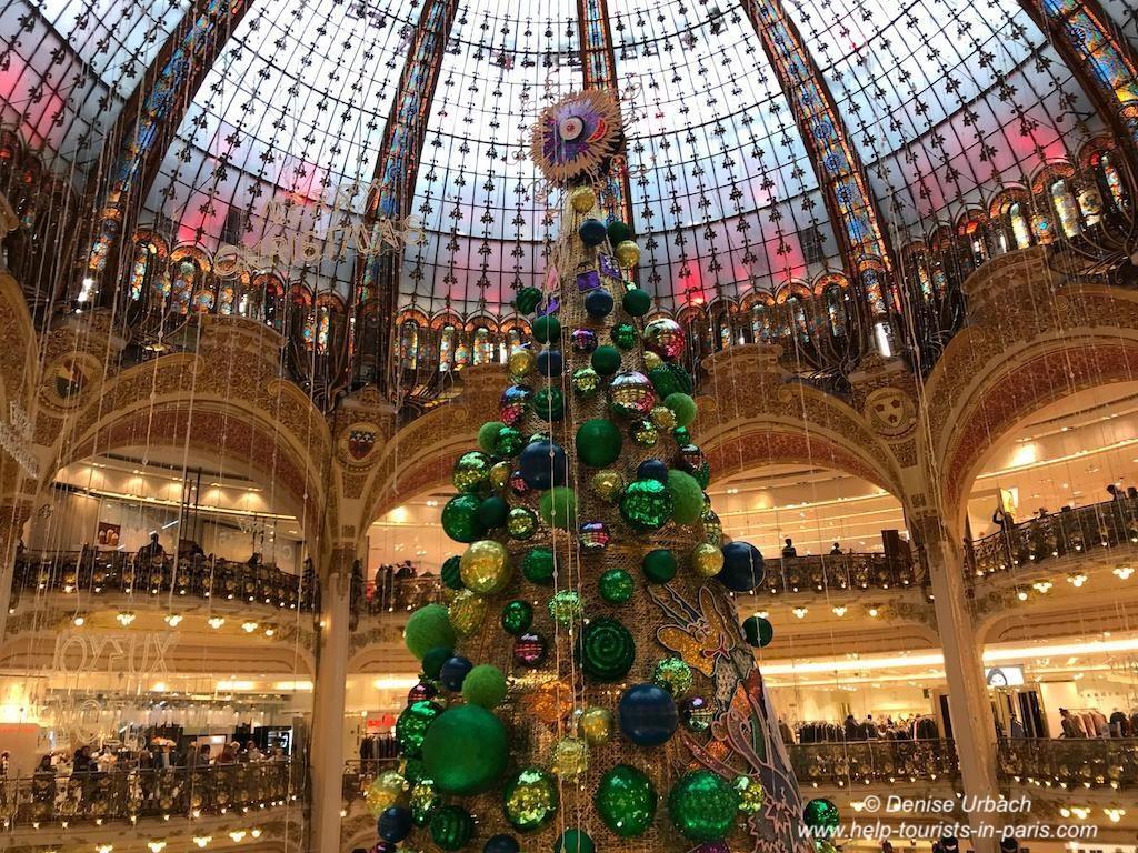 Galeries Lafayette 2018 Weihnachtsbaum