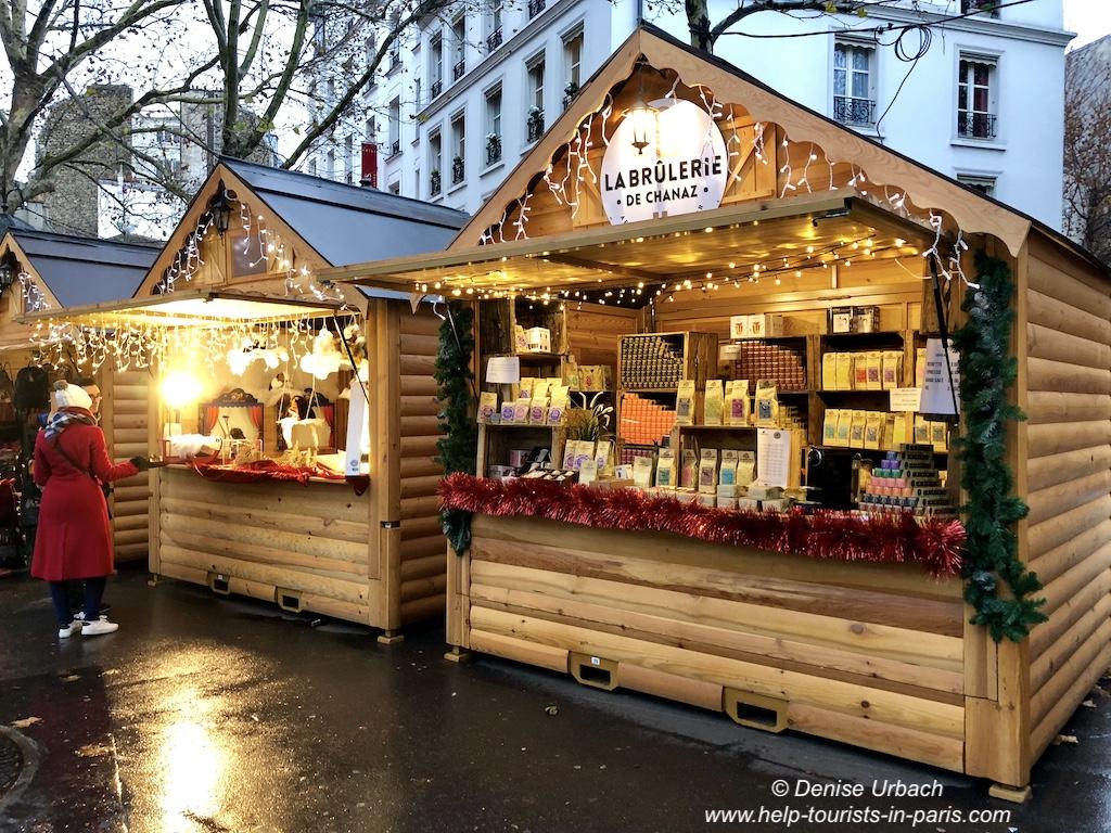Abbesses Weihnachtsmarkt Paris 2018