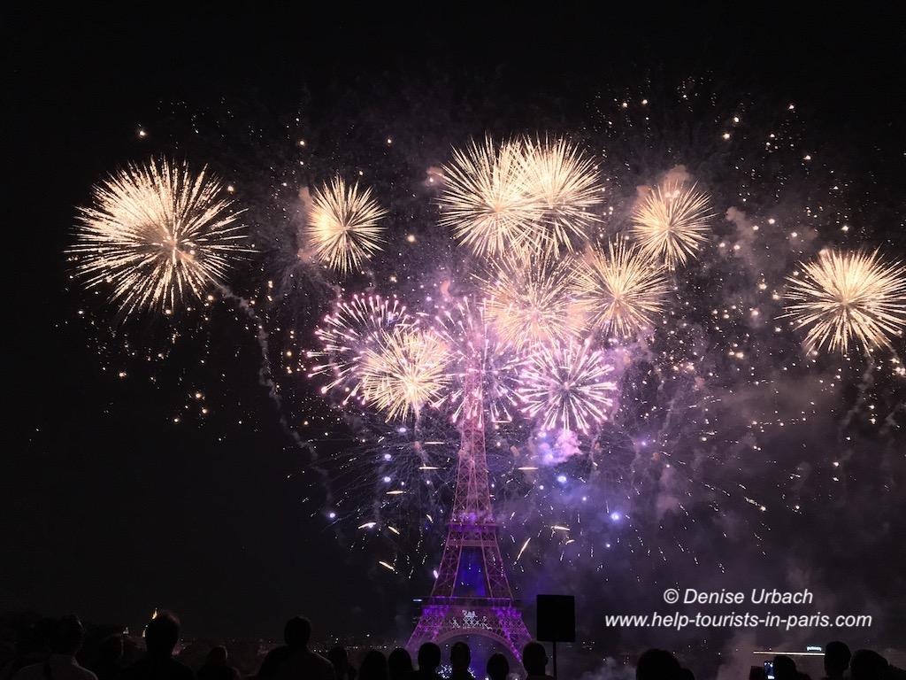 Feuerwerk in Paris