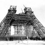 Bauarbeiten Eiffelturm Paris