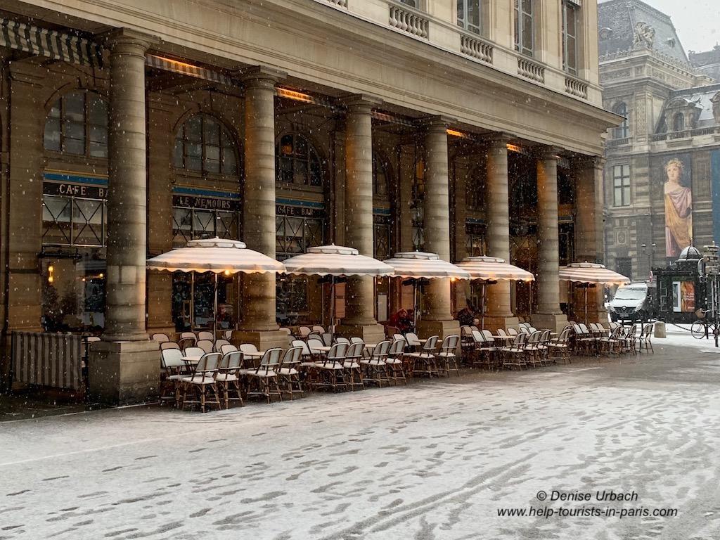 Café Paris Schnee