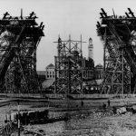 Eiffelturm Bauarbeiten