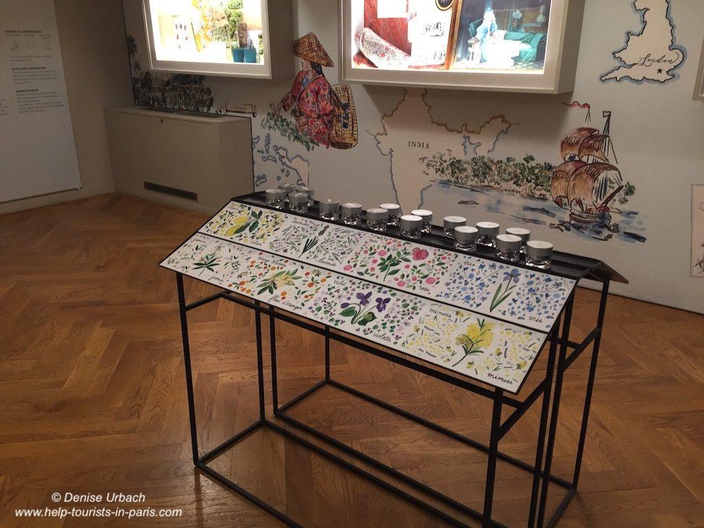 Fragonard Parfum Museum Düfte erkennen