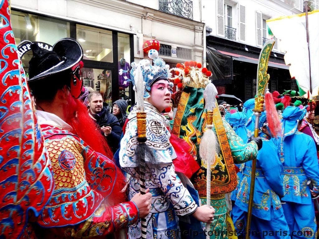 Chinesisches Neujahr Paris
