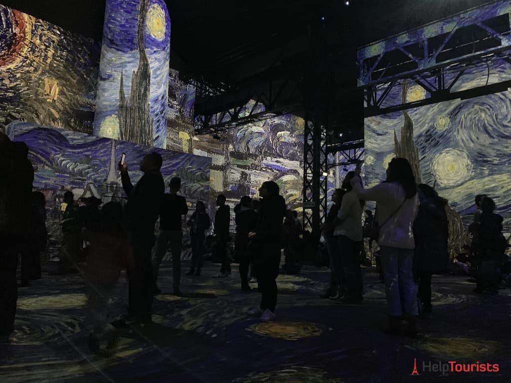Atelier des Lumières Van Gogh