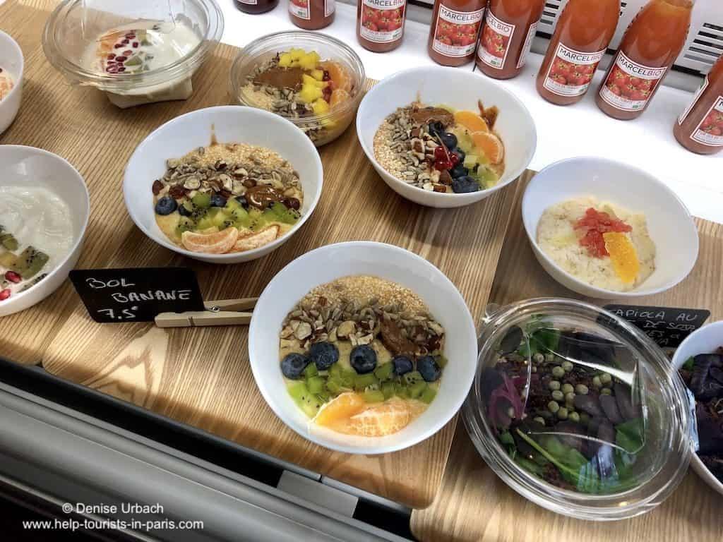Paris Frühstück Müsli Bleu Matin