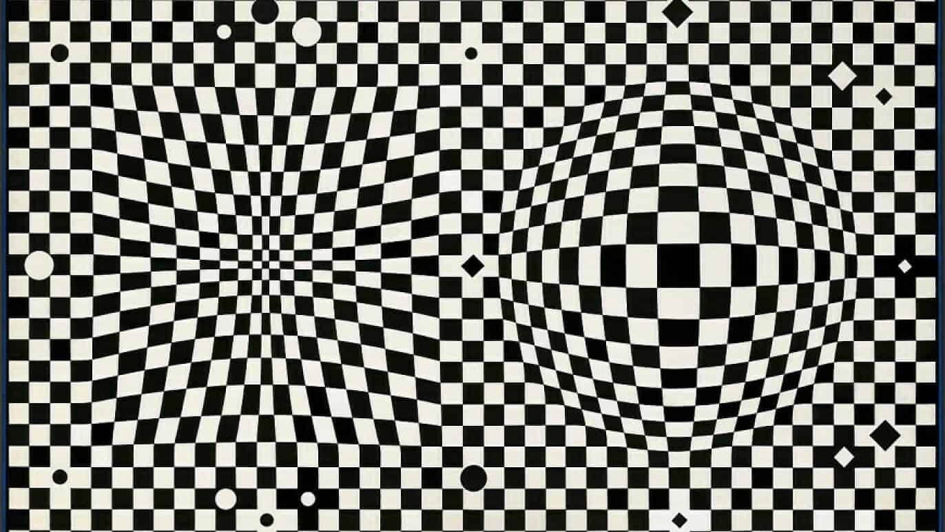 Vasarely im Centre Pompidou Paris 2019