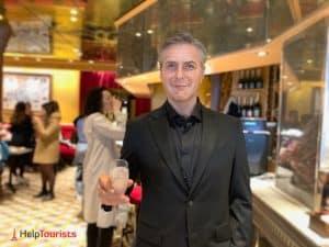 Café Grévin Paris Wachsfigurenkabinett Geroge Clooney