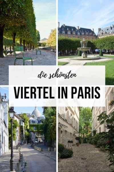 Die schönsten Viertel in Paris