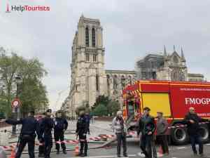 Feuer gelöscht Notre Dame