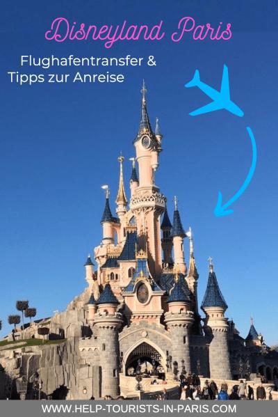 Flughafentransfer ins Disneyland Paris
