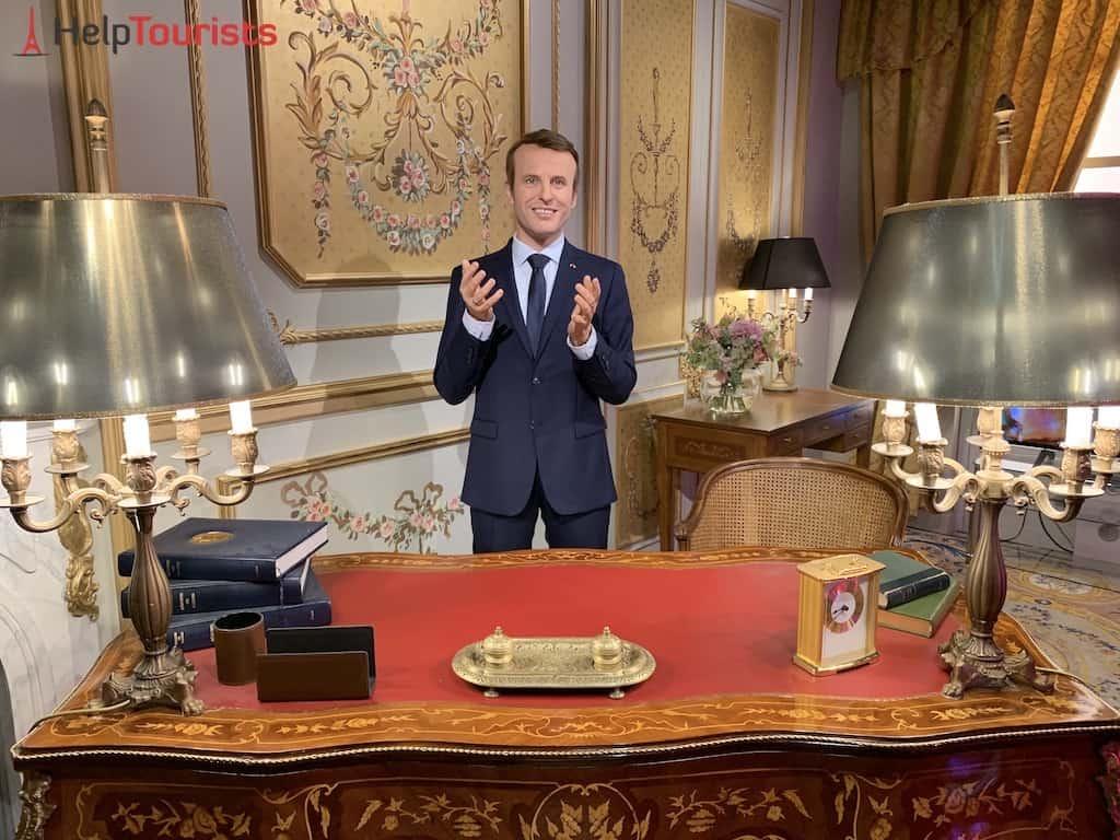 Grévin Museum Paris Emmanuel Macron