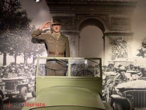 Wachsfigurenkabinett Paris Grévin Charles de Gaulle