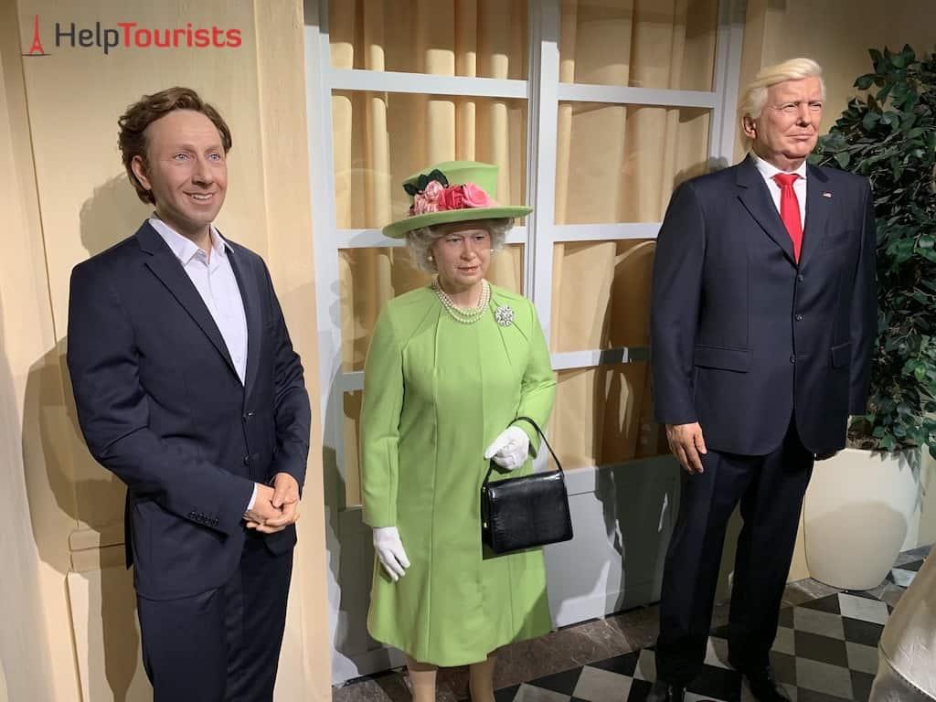 Wachsfigurenkabinett Paris Grévin Queen