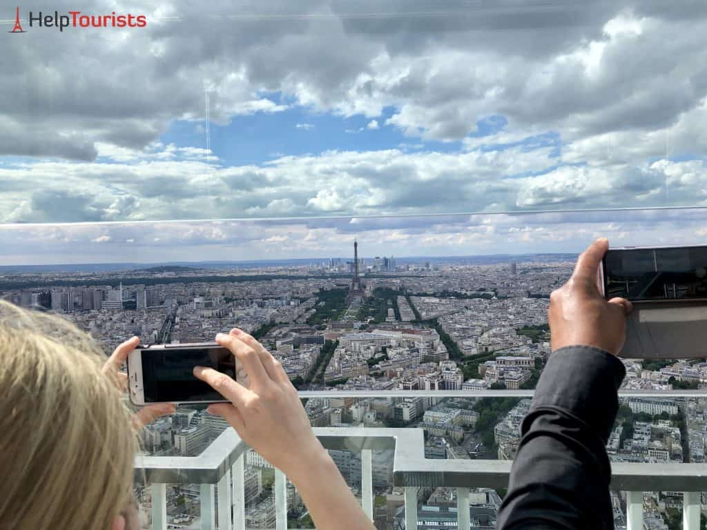 Tour Montparnasse Ausblick