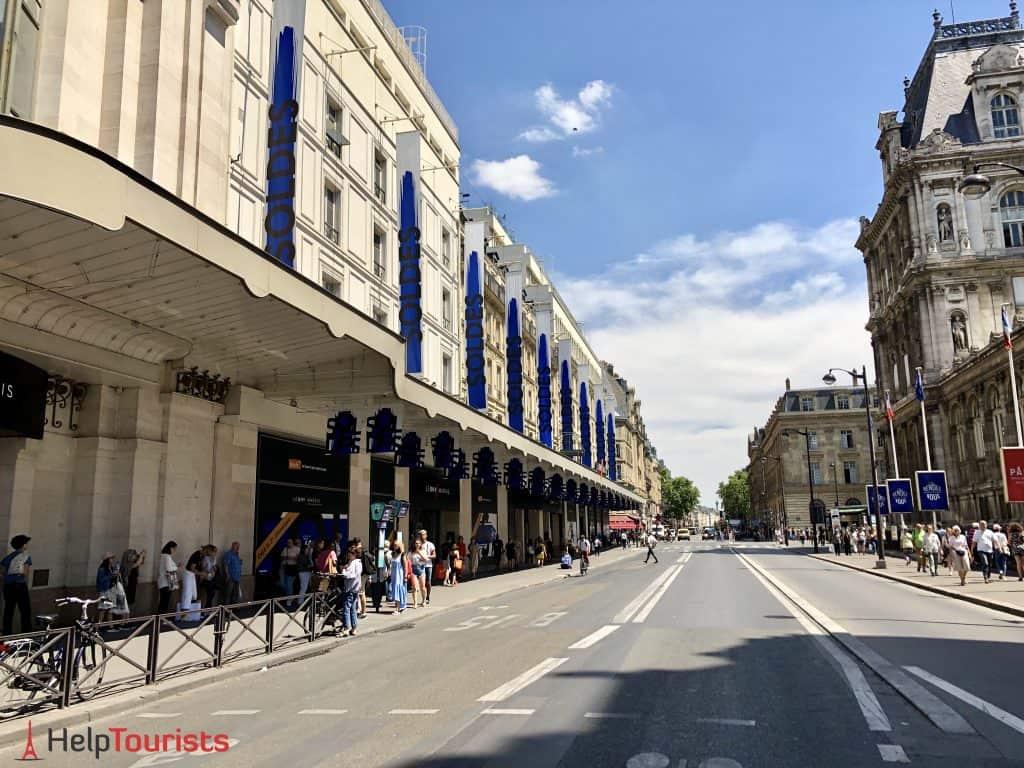Shopping Soldes Paris BHV