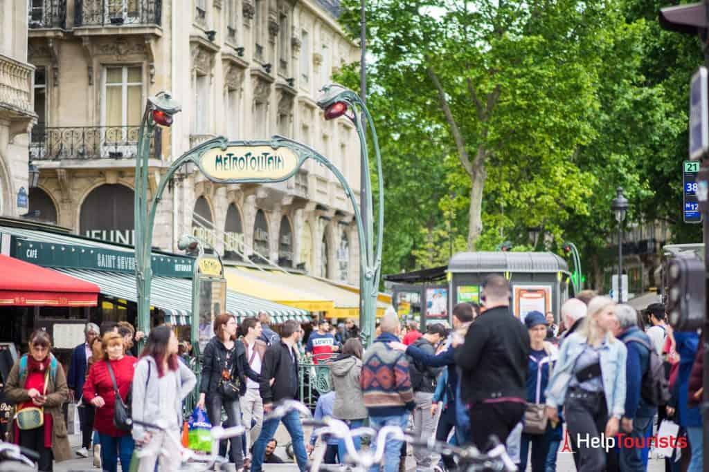 PARIS_Metro_Station_Metropolitain_l