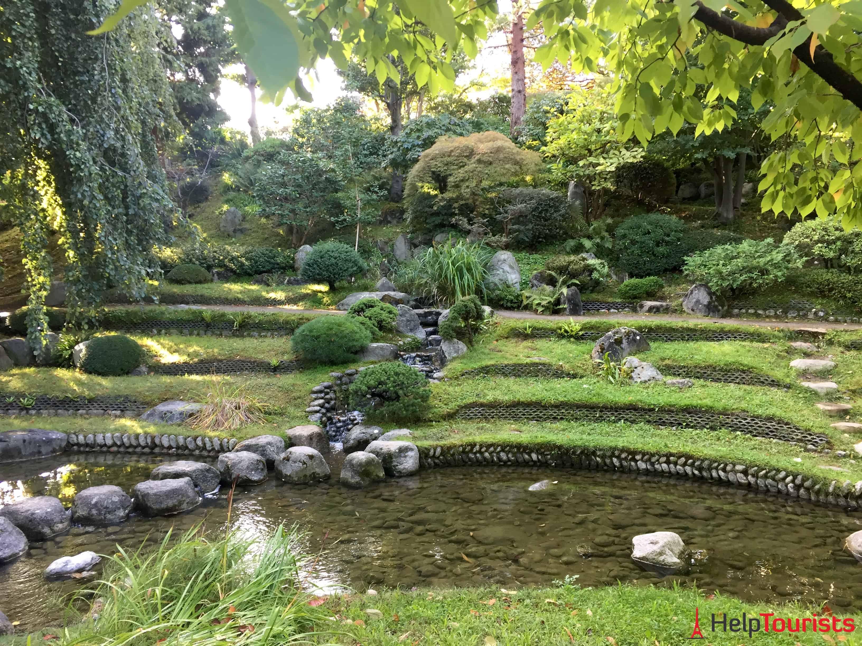 Paris Albert Kahn Garten Anlage