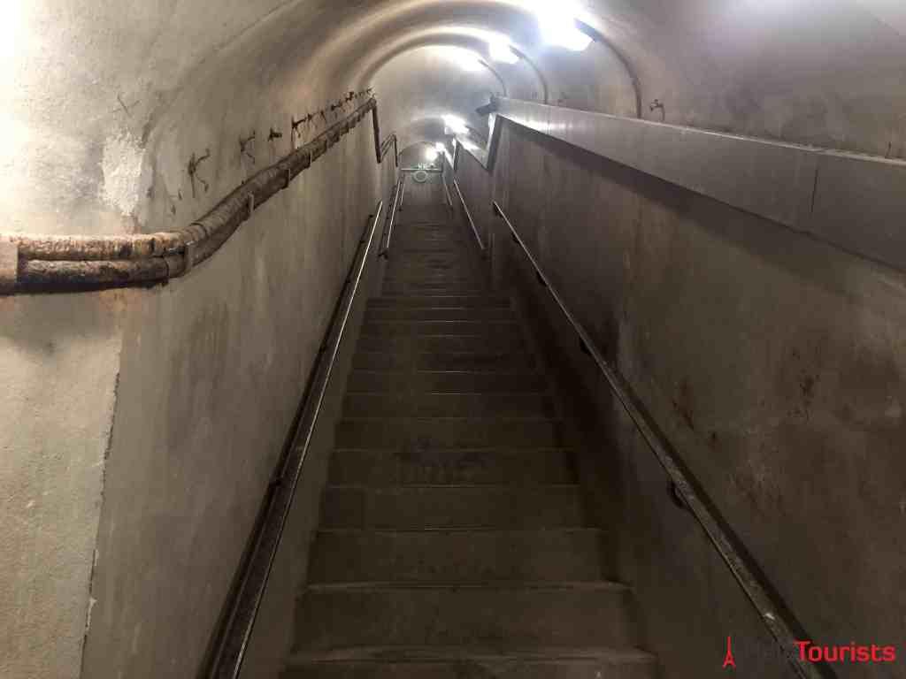 Paris Musée de la Libération Bunker Treppen