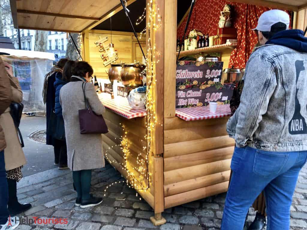 Paris Weihnachtsmarkt Abbesses 2019