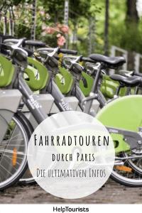 Fahrradtouren durch Paris