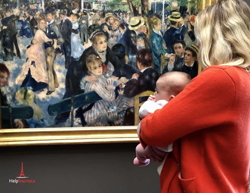 Mit Baby im Musée d'Orsay