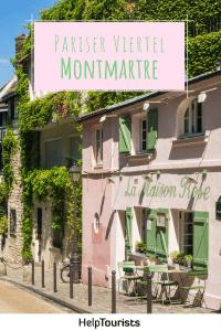 Paris Viertel Montmartre