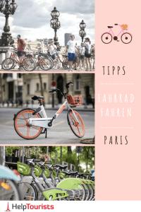 Tipps zum Fahrrad Verleih Paris