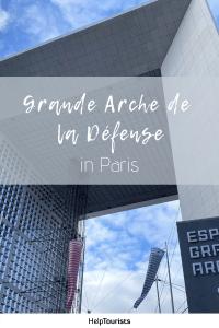 Pin Grande Arche