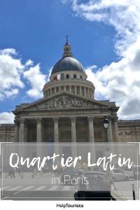 Pin Quartier Latin