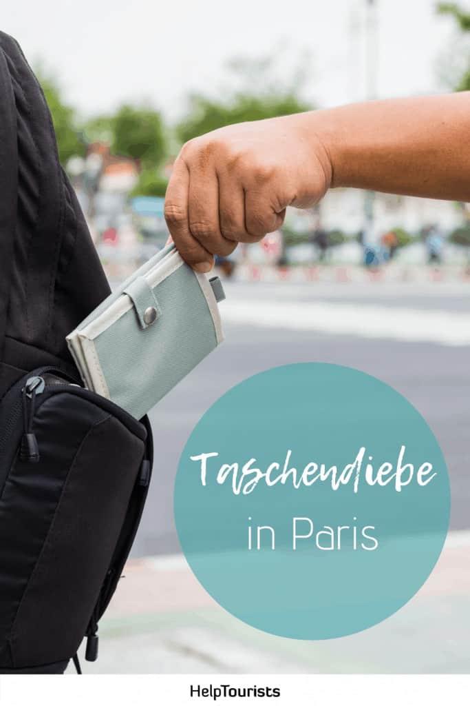 Pin Taschendiebe in Paris