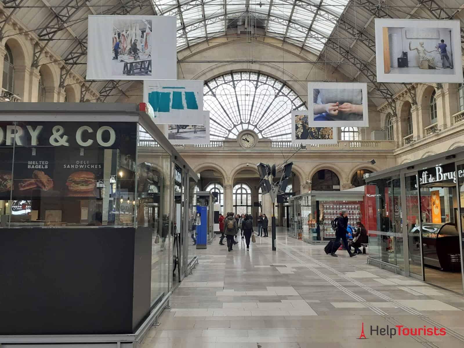 Paris Gare de l'Est Nebenhalle
