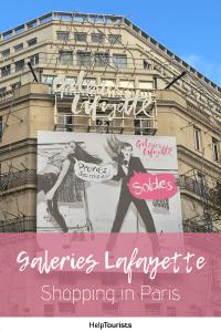 Pin Galeries Lafayette