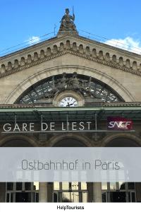 Pin Gare de l'Est