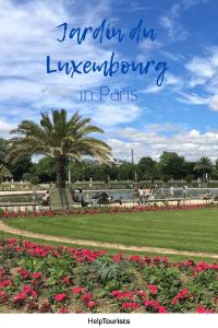 Pin Jardin du Luxembourg
