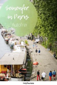 Pin Seineufer in Paris