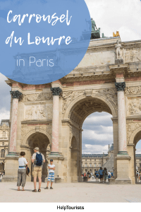 Pin Carrousel du Louvre