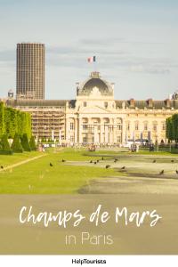 Pin Champs de Mars