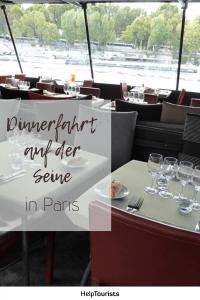 Pin Dinnerfahrtauf der Seine
