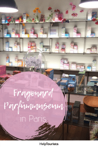 Pin Fragonard Parfümmuseum