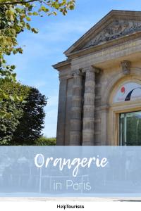 Pin Orangerie